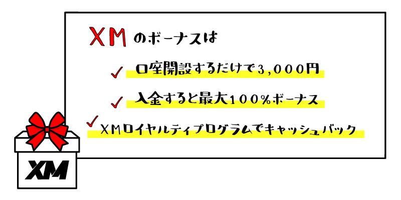おすすめ①XM(エックスエム)のアイキャッチ画像